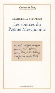 Marcella Leopizzi - Les sources du poème Meschonnic.