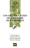 Marcelle Benoit et Norbert Dufourcq - Les Grandes dates de l'histoire de la musique.