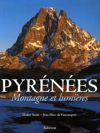 Marcellin Bérot et Jean-Marc de Faucompret - Pyrénées - Montagne et lumières.