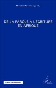 Deedr.fr De la parole à l'écriture en Afrique Image