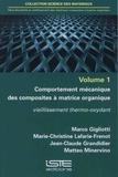 Marco Gigliotti et Marie-Christine Lafarie-Frenot - Durabilité et vieillissement des matériaux composites à matrice organique - Volume 1, Comportement mécanique des composites à matrice organique - Vieillissement thermo-oxydant.