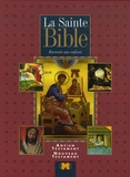 Marco Giudici et G Falzone Fontanelli - La Sainte Bible racontée aux enfants - Ancien Testament Nouveau Testament.