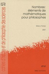 Marco Panza - Nombres : Eléments de mathématiques pour philosophes.