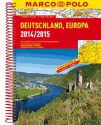MARCO POLO Reiseatlas Deutschland, Europa 2014/2015 1 : 300.000.