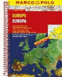 MARCO POLO Reiseatlas Europa 1 : 2.000.000.