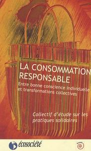 Histoiresdenlire.be La consommation responsable - Entre bonne conscience individuelle et transformations collectives Image