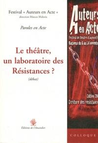 Marcos Malavia - Le théâtre, un laboratoire des résistances ?.
