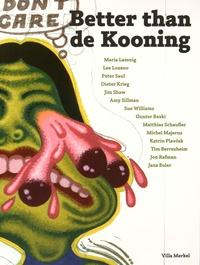 Marcus Weber et Esther Leslie - Better than de Kooning.