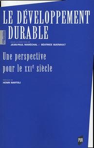 Marechal - Le développement durable - Une perspective pour le XXIe siècle.