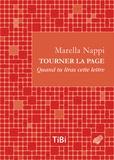 Marella Nappi - Tourner la page - Quand tu liras cette lettre.