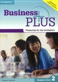 Margaret Helliwell - Business Plus: Preparing for the Workplace - Student's Book 2.