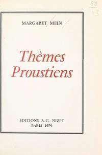 Margaret Mein - Thèmes proustiens.