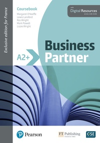 Margaret O'Keeffe et Lewis Lansford - Business Partner A2+ - Coursebook. With Digital Ressources.