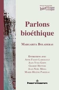 Margarita Boladeras - Parlons bioéthique.