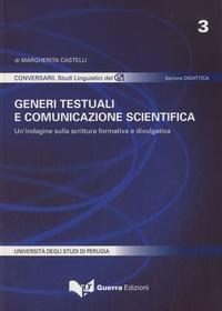 Margherita Castelli - Generi testuali e comunicazione scientifica.