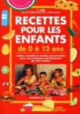 Margherita Landra et F Valli - Recettes pour les enfants de 0 à 12 ans.