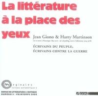Samuel Autexier et Harry Martinson - Marginales N° 5, Printemps 2006 : La littérature à la place des yeux.