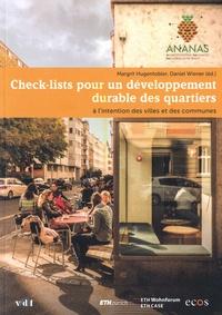 Accentsonline.fr Check-lists pour un développement durable des quartiers - A l'intention des villes et des communes Image