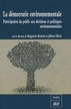 Marguerite Boutelet et Juliette Olivier - La démocratie environnementale - Participation du public aux décisions et politiques environnementales.