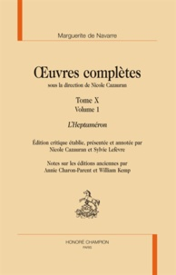Marguerite de Navarre - Oeuvres complètes - Tome 10, L'Heptaméron, 3 volumes.