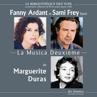 Marguerite Duras et Fanny Ardant - La Musica Deuxième.