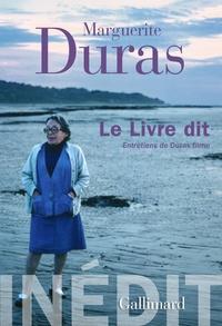 Marguerite Duras - Le Livre dit - Entretiens de Duras filme.