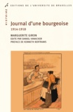 Marguerite Giron - Journal d'une bourgeoise 1914-1918.