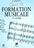 Marguerite Labrousse - Cours de formation musicale 1ère année.