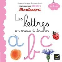 Marguerite Rampale et Bernadette Gervais - Les lettres en creux à toucher.
