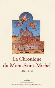 Cjtaboo.be La Chronique du Mont-Saint-Michel - 1343-1468 Image