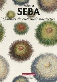 Marguerite Sablonnière - Albertus Seba - Cabinet de curiosités naturelles, 22 planches détachables en couleurs.