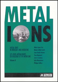 Histoiresdenlire.be Metal Ions in Biology and Medicine - Tome 8 Image