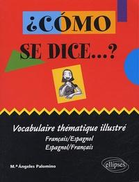 Maria-Angeles Palomino - Como se dice...? - Vocabulaire thématique illustré français-espagnol et espagnol-français.