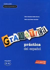 Maria-Antonieta Andion Herrero et Maria-Luisa Gomez Sacristan - Gramatica practica del espanol, nivel elemental.