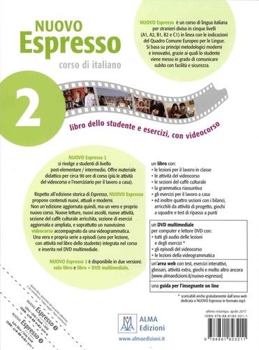 Nuovo espresso 2, corso di italiano. Libro dello studente e esercizi