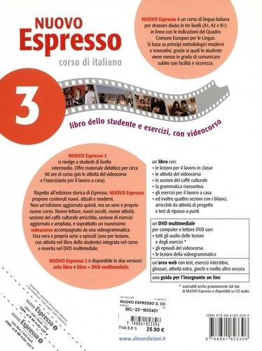 Nuovo Espresso 3 corso di italiano. Libro dello studente e esercizi B1
