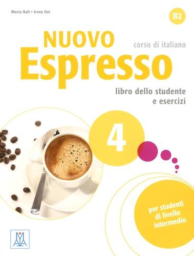 Nuovo Espresso 4, corso di italiano. Libro dello studente e esercizi  avec 1 CD audio