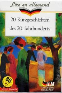 Maria Briand - 20 Kurzgeschichten des 20 Jahrhunderts. 1 Cassette audio