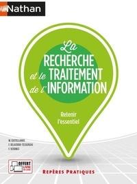 Maria del Mar Castellanos et Florie Delacroix-Tessereau - La recherche et le traitement de l'information.