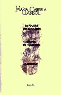 Maria Gabriela Llansol - La foudre sur le crayon - Hölder, de Hölderlin - Cantilène.