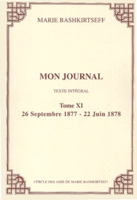 Galabria.be Mon journal - Tome XI, 26 septembre 1877 - 22 juin 1878 Image