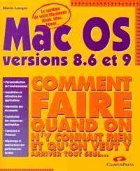 Maria Langer - Mac OS, versions 8.6 et 9.