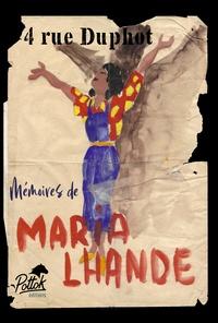 Maria Lhande - 4 rue Duphot - Mémoires de Maria Lhande.