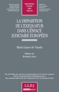 Galabria.be La dispartion de l'exequatur dans l'espace judiciaire européen Image