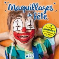 Maquillages de fête pour les enfants - Maria Maneru   Showmesound.org