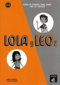 Coachingcorona.ch Lola y Leo 2 - Curso de español para niños. Libro del professor Image