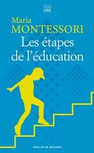 Maria Montessori - Les étapes de l'éducation.