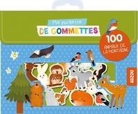 Maria Neradova - Ma pochette de gommettes - 100 animaux de la montagne.