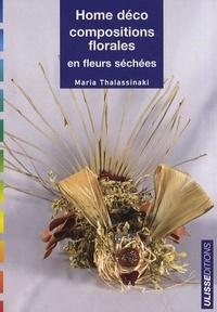 Maria Thalassinaki - Home déco, compositions florales en fleurs séchées.