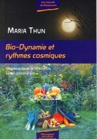Maria Thun - Bio-dynamique etrythmes cosmiques - Indications résultant de la recherche sur les constellations.